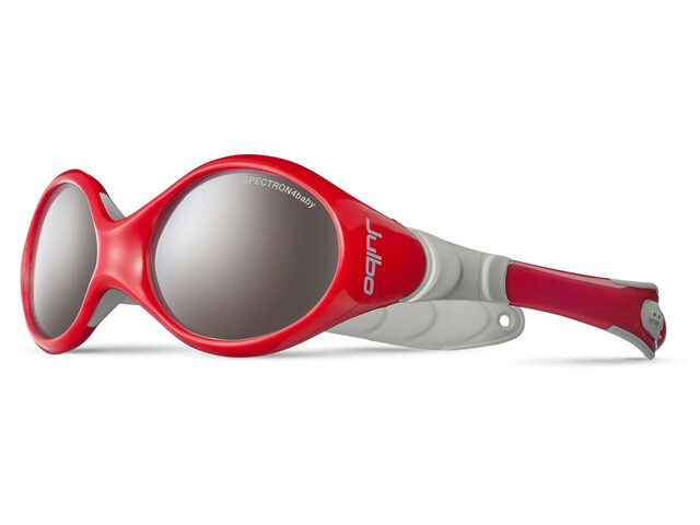 Julbo Looping I Spectron 4 Sunglasses Baby 0-18M Red/Gray-Gray Flash Silver
